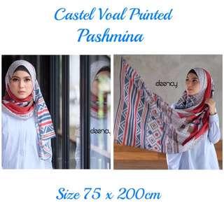 Castle Voal Printed Pashmina