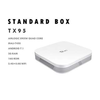 HIGH PERFORMANCE TX 95 ANDROID TV BOX