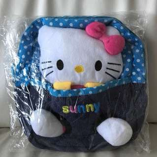 Brand New Backpack with Hello Kitty Plush Toy