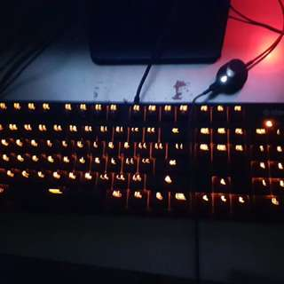 Keyboard Steelseries Apex M260 heat orange