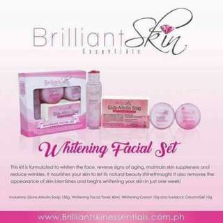 Whitening Facial set