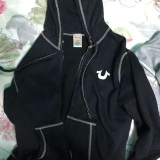 True religion Black hoodie
