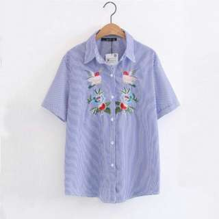 PREORDER Embroidered Shirt