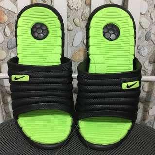 Neon Green Slippers