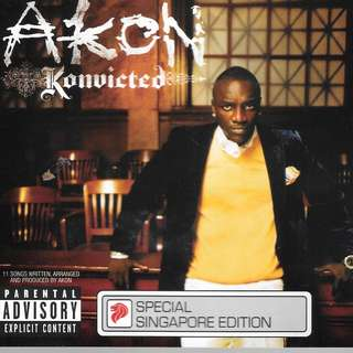 MY CD - AKON KONVICTED //FREE DELIVERY BY SINGPOST.