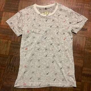 Electric Guitar Printed Shirt