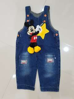Overall mickey.. like new !!