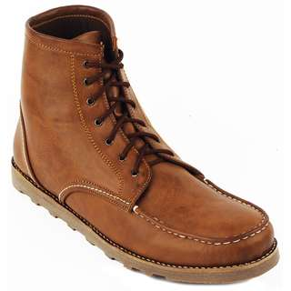 Sepatu Boots Pria Navara Ankle Boots Brown
