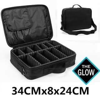 Professional Cosmetic Bag Makeup Bag Travel Makeup Organizer