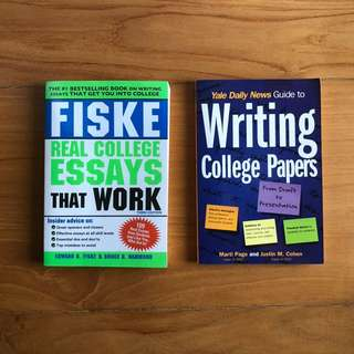 College Essay Writing help books