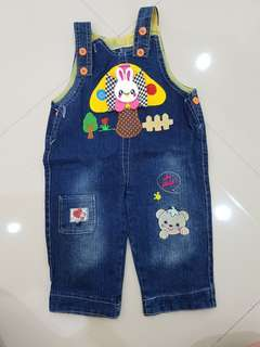 Overall rabbit , like new !!
