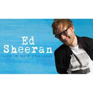 Ed Sheeran Live in Auckland Concert Tickets