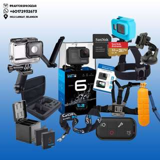GoPro HERO 6 / HERO6 Black Action Camera