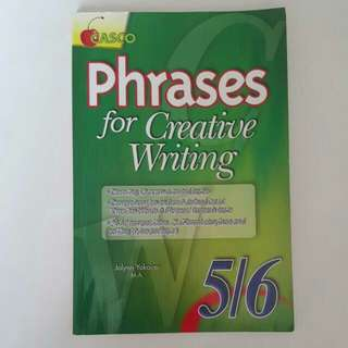 FIXED PRICE📬Casco Phrases For Creative Writing Primary 5/6 Book