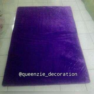 Karpet Bulu Rafsur uk.150 x 100 x 3cm antislip