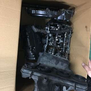 One lot cb400 ver s engine parts