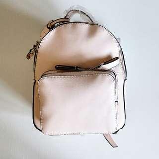 Charles and keith original baby pink mini backpack ransel kecil