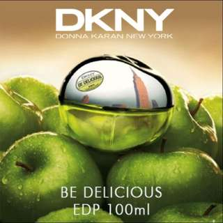 💯Authentic DKNY Be Delicious 100ml