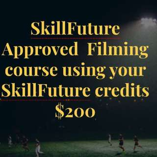 Videography & Photography SkillFuture Approved courses worth $400