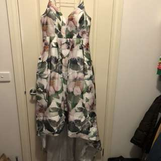 Bariano floral dress