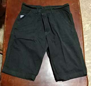Black Knee Length Shorts Size 29/30