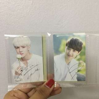 [Exo] Nature Republic Photocards
