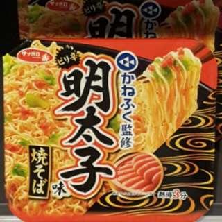 三洋食品明太子味炒麵
