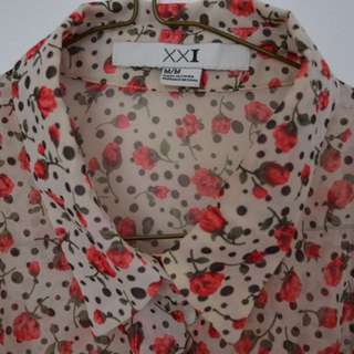 Floral Button-Up