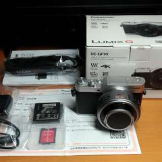 Panasonic 公司貨 GF9 +14-42mm X 電動變焦鏡組 (電池2顆、保固到20206)