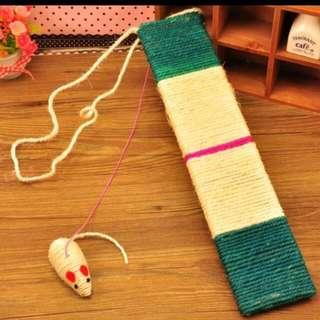 Cat Scratch Board / Cat Kitty Toys / Cat Scratching Post / Cat Scratcher / Cat Scratching Plank