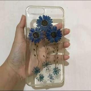 Pressed-flower Case (real flower) Iphone 7 plus