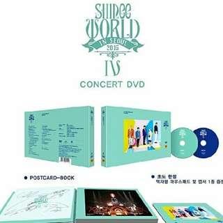 SHINEE - WORLD IV DVD