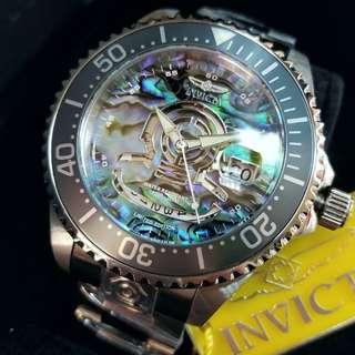 美國極受歡迎品牌 INVICTA 23453 深潛300米 47mm 自動可手上鍊機芯