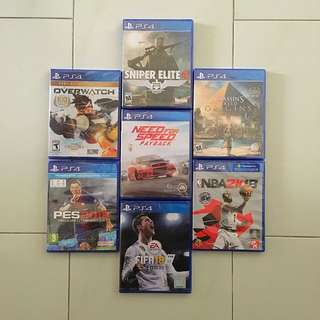 PS4 Games 7 Premium Titles List *Any 2 For $115 (All Brand New & Sealed)
