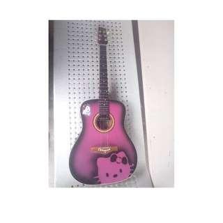 Guitar Hello Kitty Design