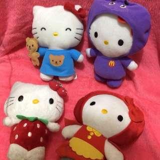 Take All Hello Kitty Plushies McDo