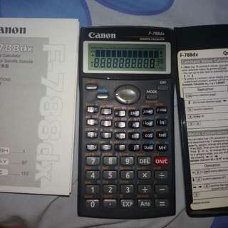 Scientific Calculator Canon
