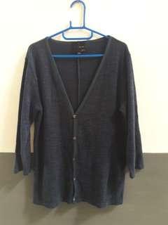 Cardigan Wool Hijau