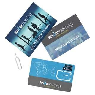 Knowroaming SIM 全球免費永久whatsapp上網卡,大陸都得!!! 不是卡貼不用翻牆