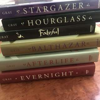 Selling Evernight Series by Claudia Gray + Fateful (Book set)