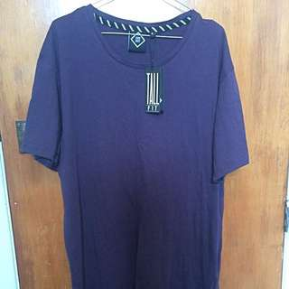 Mens Hellensteins T-shirt with zip detailing