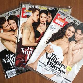 Vampire Diaries Collectibles (All 3 covers)