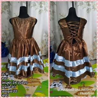 (Repriced)2-3t gown
