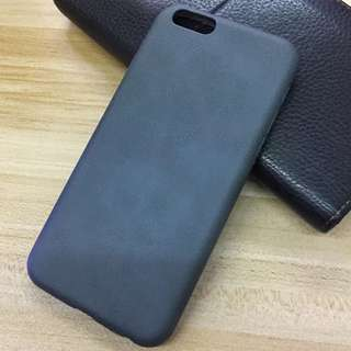 iPhone 7/8 灰 仿皮case