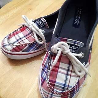 Plaid Sweetheart Sperry Top-sider