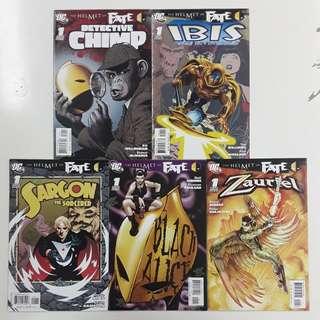 Helmet of Fate Comics Set