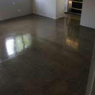 Cement screed flooring