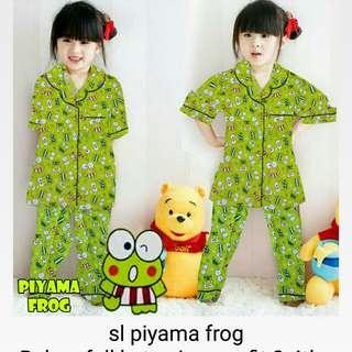 Sl piyama frog