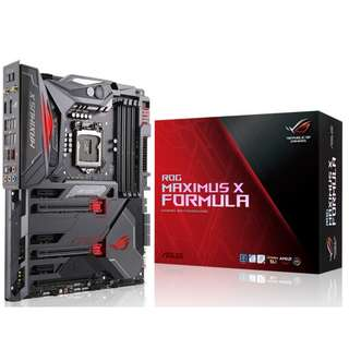 ASUS ROG Maximus X Formula LGA1151 (300 Series & Support 8th Gen CoffeLake CPU Only) DDR4 DP HDMI M.2 Z370 ATX Motherboard