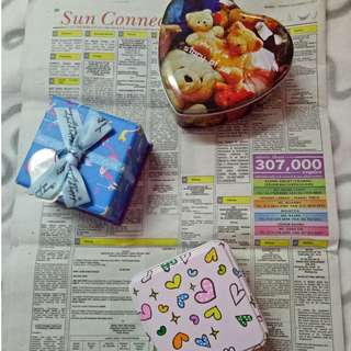 1 Gift Box + 2 Gift Tins (3 in 1 Combo deal) FREE SHIPPING!